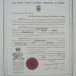 Saskatchewan Branch charter