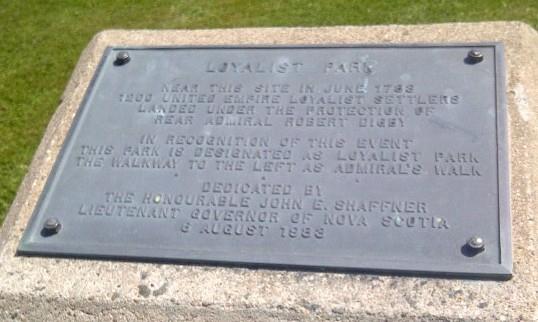 Loyalist Park, Digby, Nova Scotia