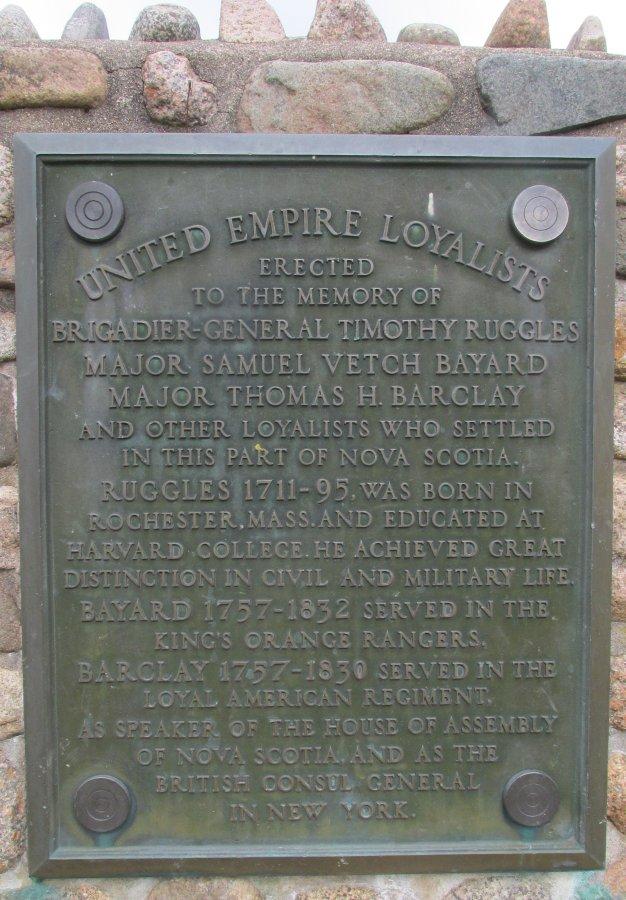 Middleton Park Cairn plaque