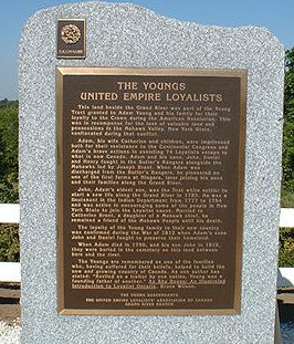 Adam Young Plaque
