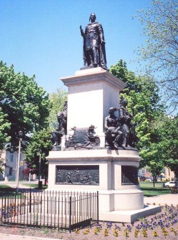 Joseph Brant memorial statue