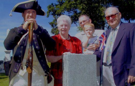 John Cameron tombstone unveiling