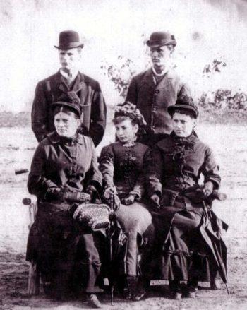 The Sherk family c.1880 (Photo courtesy of Gail Woodruff, UE)